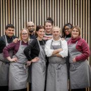 L'équipe du restaurant Le Pantographe