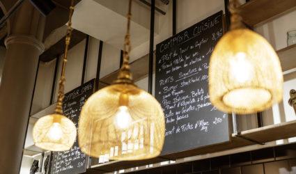 Restaurant Pantographe intérieur