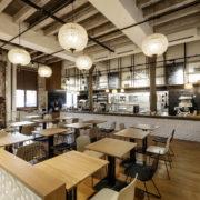 Restaurant Pantographe salle intérieure