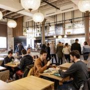 Restaurant Pantographe salle intérieure en service