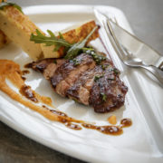 Restaurant Pantographe plat du jour à la viande
