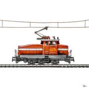 MyLittleRedCar train rouge