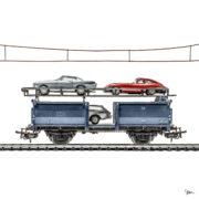 MyLittleRedCar wagon voitures