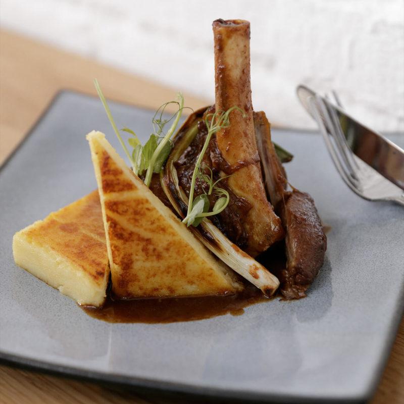 Restaurant Pantographe, plat à base de bœuf