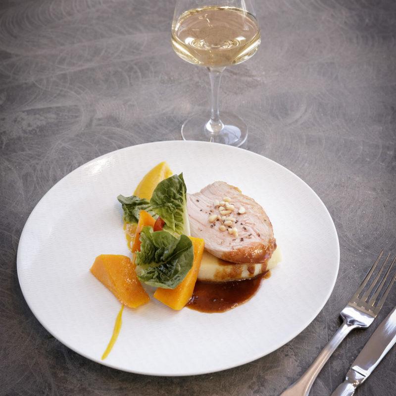 Restaurant Pantographe, plat à base de viande