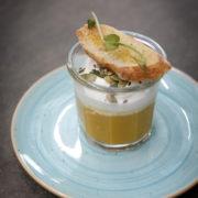 Restaurant Le Pantographe, potage